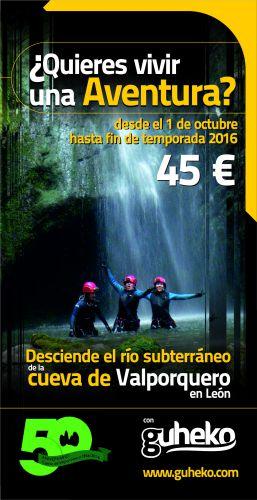 Flyer Valporquero 2016 oferta fin de temporada