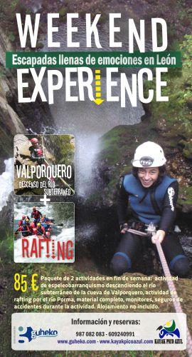 TA Valporquero y rafting 2016